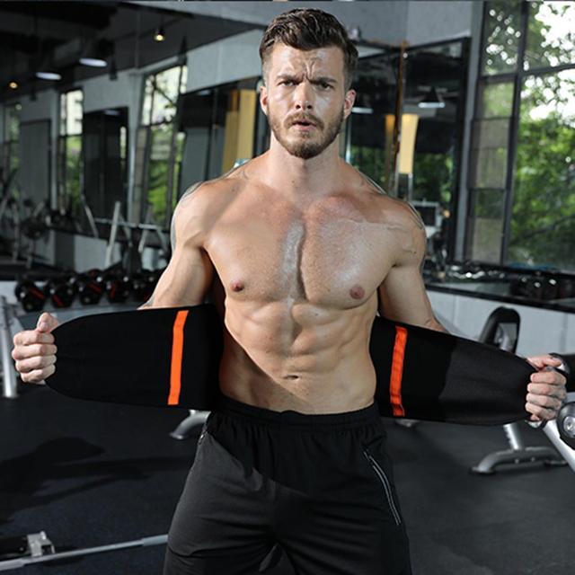 WeightLifting Waist Belt Guard Sports Equipment Belt Sweat Squat Strength Support Fitness Adjustable 4