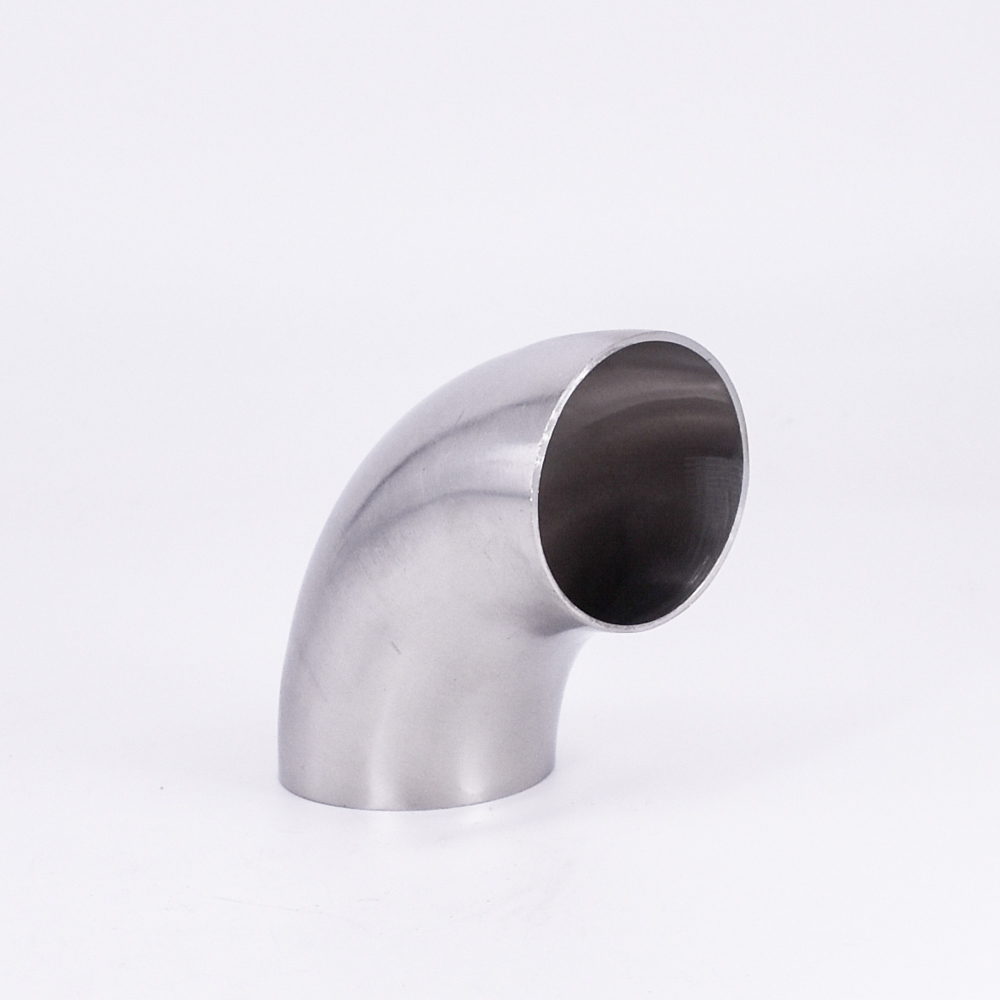 12.7/16/19/22/25/28/32/34/38/40/42/45/48/51/52mm OD Butt Weld Elbow 90 Degree SUS 304 Stainless Sanitary Pipe Fitting Homebrew