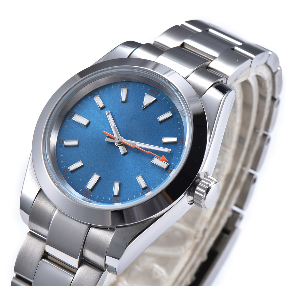 automatic mechanical watch watch men Luminous waterproof 316L Solid stainless steel 40MM LLS93z