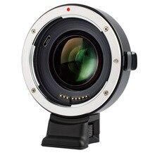 Viltrox EF-E II Автофокус редуктор Скорость усилитель объектива адаптер для Canon EF объектив для sony NEX E A9 A7 A7R/II/III A7SII A6500 NEX7