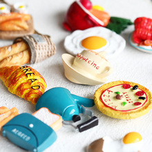 Premium Cartoon Strong Fridge Magnets 3D Breakfast Refrigerator Magnets for Home Decoration,Whiteboard Kitchen Suitable for Kids