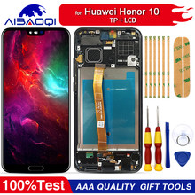 New original Touch Screen LCD Display LCD Screen For Huawei Honor 10 Replacement Parts + Disassemble Tool+3M Adhesive(China)