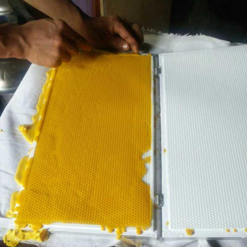 2020 חדש דגם הפעלה קלה מכונה בסיס שעוות דבורים, מחברת מכונה בסיס שעוות דבורים, נייד מכונה בסיס