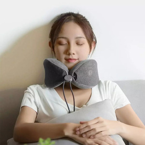 Image 2 - Low Frequency Neck Massage Pillow Sleep Neck Pillow Memory Cotton Material  Leisure And Relaxation Massage Pillow
