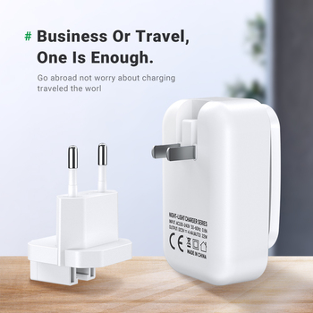 TOPK 4-Port 4.4A(Max) 22W EU USB Charger Adapter LED Lamp Auto-ID Portable Phone Travel Wall Charger for iPhone Samsung 6