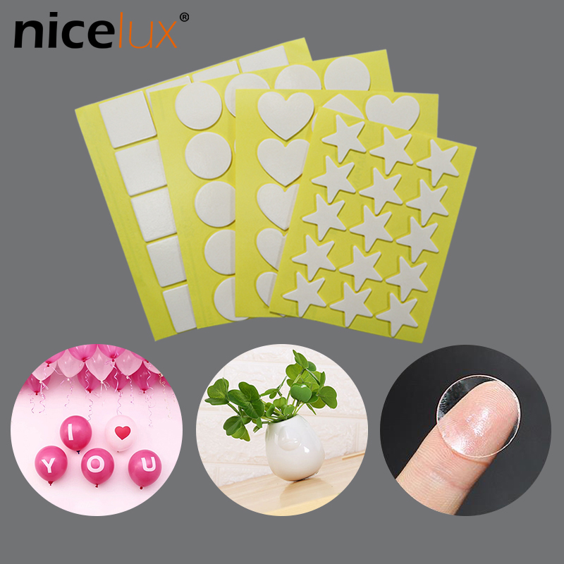 15pcs Acrylic Double-sided Adhesive Anti Slip Gel Pad Sticky Reusable Nano Tape Film Sticker Super Sticky Strong Waterproof DIY
