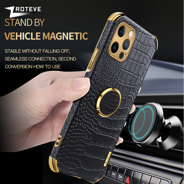 Zroteve For iPhone 12 11 Pro Max Mini Cover Crocodile Pattern Coque For Apple iPhone X S XR XS Max 8 7 6 S 6S Plus SE 2020 Cases 3