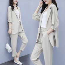 Suit Female Autumn 2019 New Korean Version Leisure jackets Fashion Slim Two-piec
