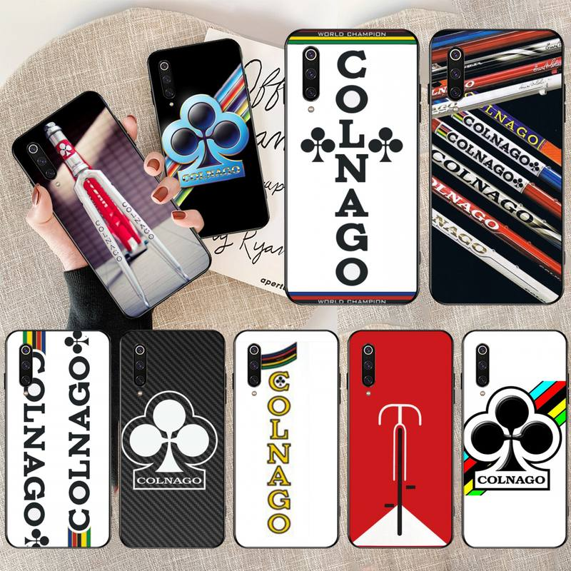PENGHUWAN colnago bick Black Soft Shell Phone Case Capa for Redmi Note 8 8A 7 6