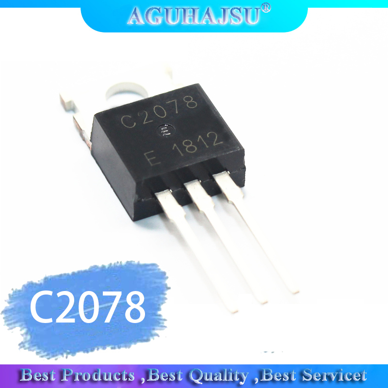 10pcs/lot C2078 2SC2078 150M Line Frequency Transistor TO-220   Original