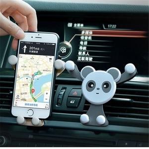 Image 3 - Soporte de teléfono Gravity para coche, soporte de ventilación de aire para teléfono móvil iPhone XR, Samsung, Huawei, GPS