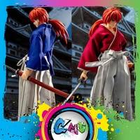 CMT Instock Dasin Model Rurouni Ken shin HIMURA KENSHIN S.H.F Action Figure Anime PVC Toys Figure