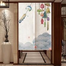 Japońska zasłona do drzwi ekrany pyłoszczelna zasłona do drzwi ekrany kuchenne dekoracje do wnętrz do sypialni przegroda zasłona do drzwi tanie tanio JS0710 Other