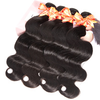 Luvin OneCut Hair Body Wave 8 40 28 30 32 Inch Brazilian Remy Hair Natural Color 4 Bundles Deal 100% Human Hair Double Drawn