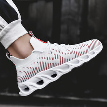 Men Sneakers Spring Autumn Mesh Fly Weave Casual Shoes Cheap Brand Design Walking Light Weight Outdoor