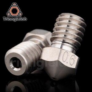 Image 2 - Trianglelab T V6 Überzogene Kupfer Düse Langlebig nicht stick hohe leistung für 3D drucker hotend M6 Gewinde für E3D V6 hotend