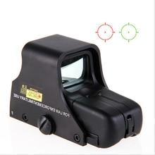Mira telescópica para rifle, visor óptico holográfico de punto rojo y verde, retícula con iluminación ajustable, 551, 552