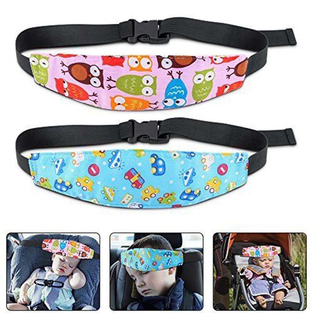 Seat Position Control Elastic Fastening Head Support Playpens Baby Stroller Pram Infant Carriage Sleeping Halter Safety