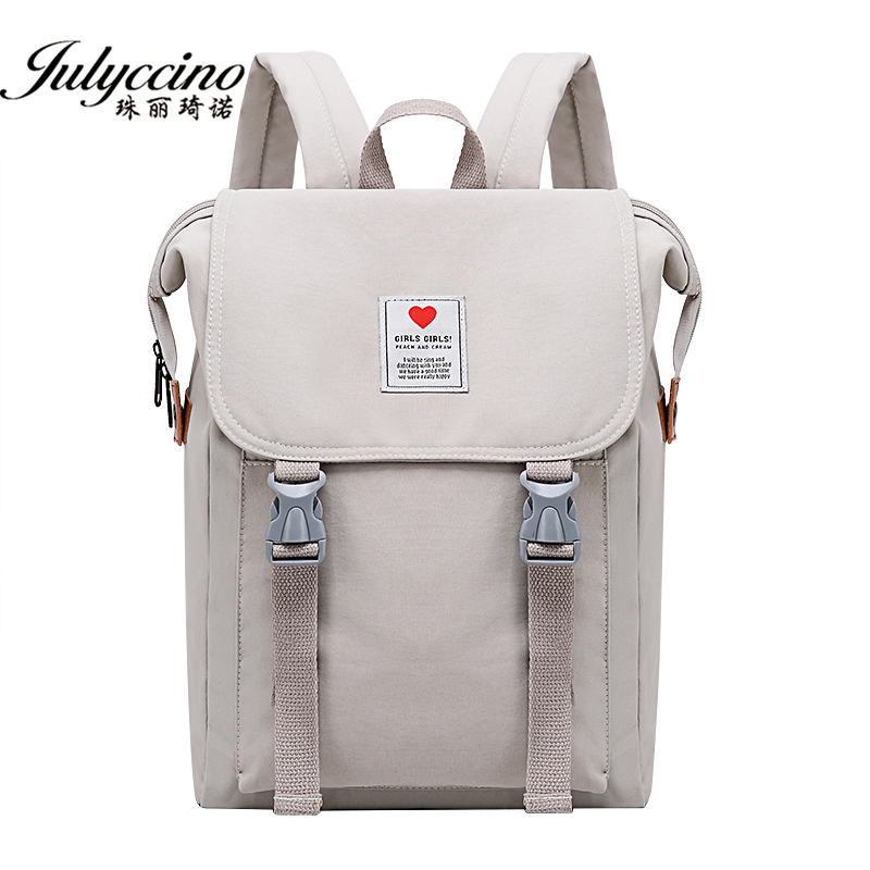 JULYCCINO Backpack Women Travel Bagpack Solid Color Girl Waterproof School Bag For Teenage Girl Children Backpacks Shoulder Bags