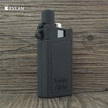 ZYLAN New Fashion Cover Case Shell Silicone Rubber Kit Shell for Smok Trinity Alpha Vape Pouch for Trinity Alpha Black Red недорого