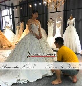 Image 4 - Amanda Novias robe de mariée sur mesure, robe de mariée luxueuse, design, bonne qualité, 2020