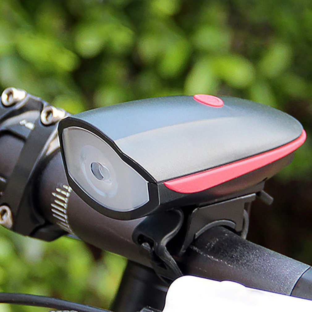 Bell Bicycle-Light Electric-Horn Night-Riding-Light Mountain-Bike Vocal Usb-Charging title=