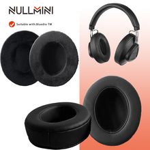 NullMini החלפת קטיפה Earpads עבור Bluedio TM אוזניות לעבות זיכרון קצף Earmuff שרוול אוזניות