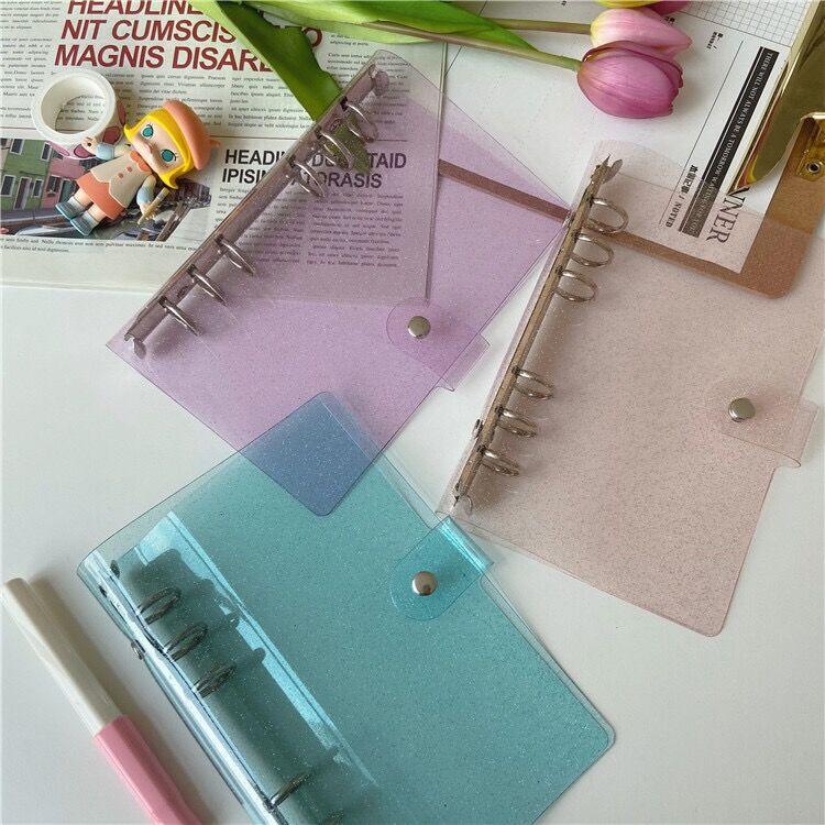 Чехол для ноутбука MINKYS A7/A6/A5 с блестящим украшением, ежедневник, ежедневник, планировщик, Обложка для пули, школьные канцелярские принадлежн...