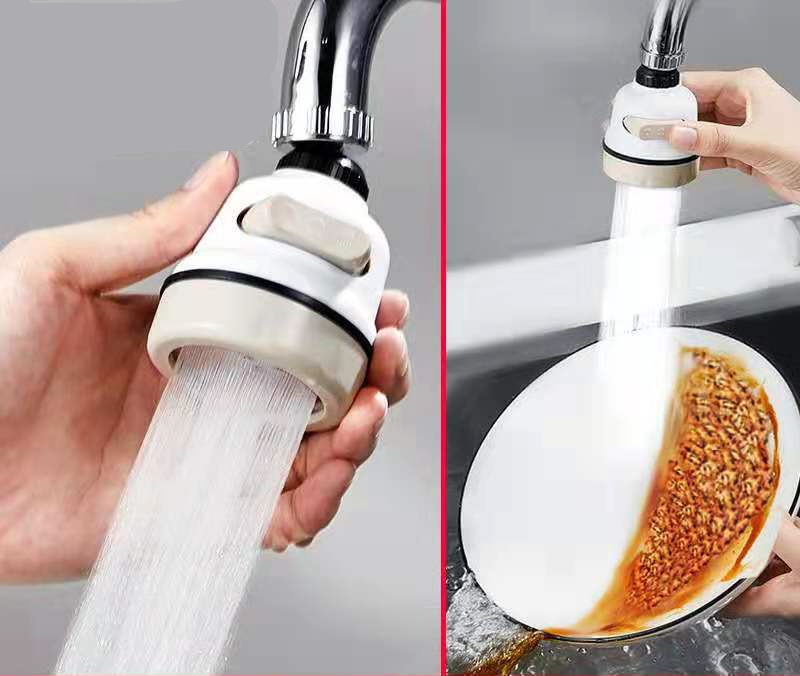 Faucet Bubbler Splash Head Filter Household Tap Water Booster Shower Kitchen Water Filter Nozzle Water Saving Universal
