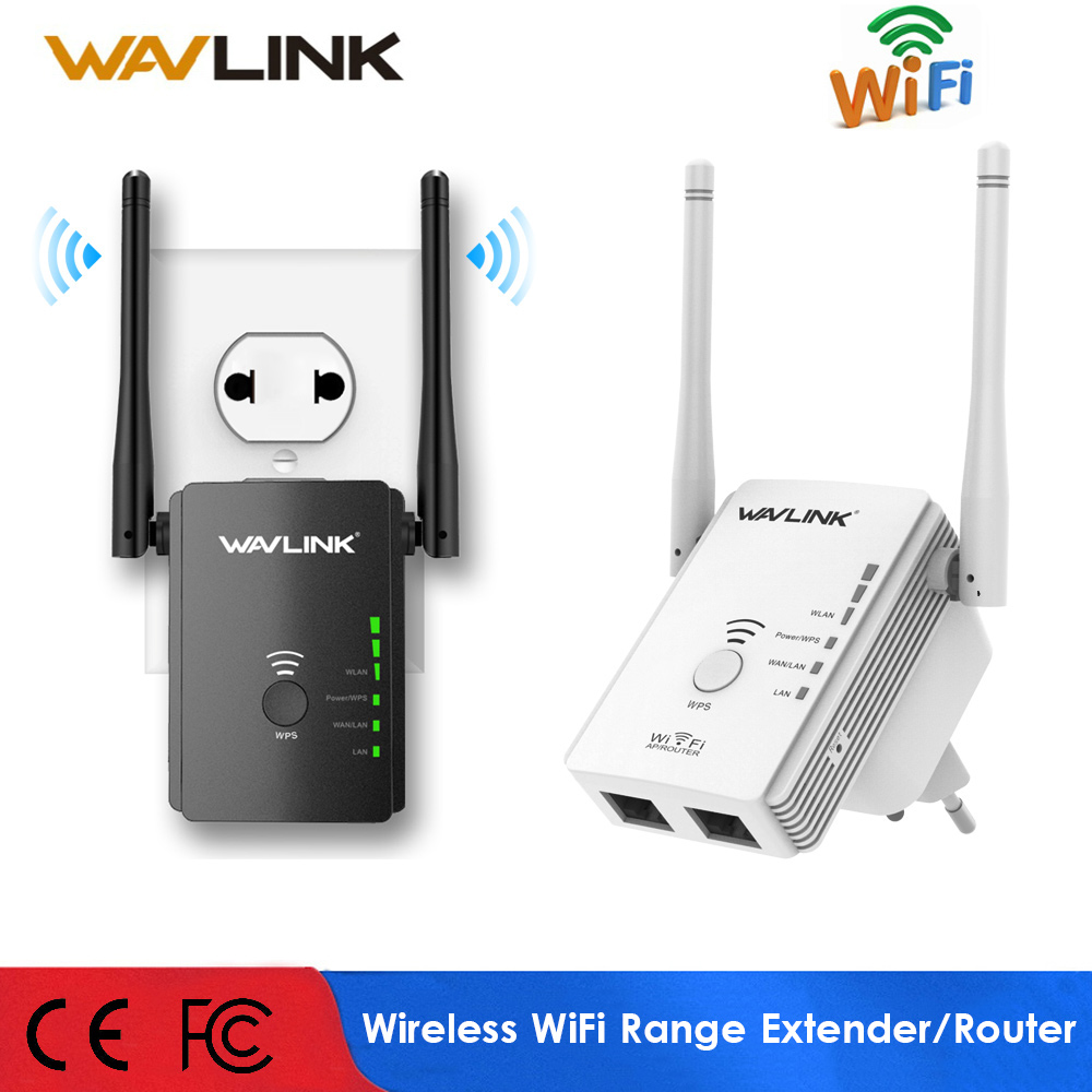 Wavlink Wifi Repeater Wifi-Amplifier Range-Extender/wireless-Router 300mbps EU B/G