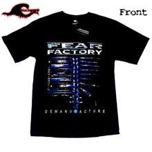 Camiseta fábrica de medo-desmanufaturamento-banda