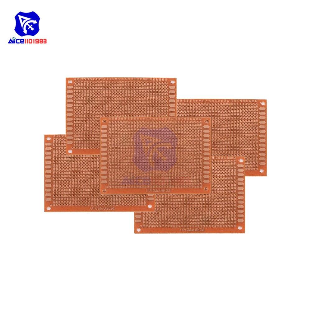 Carte de prototypage 7 x 9 cm DIY 2.54mm Arduino PCB board Raspberry Pi