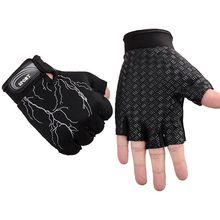 Jazda na rowerze rękawice wagi ciężkiej do ćwiczeń sportowych rękawice do podnoszenia ciężarów kulturystyki sport treningowy rękawiczki do ćwiczeń okucia tanie tanio anmeilu COTTON Z pełnym palcem Zmywalna