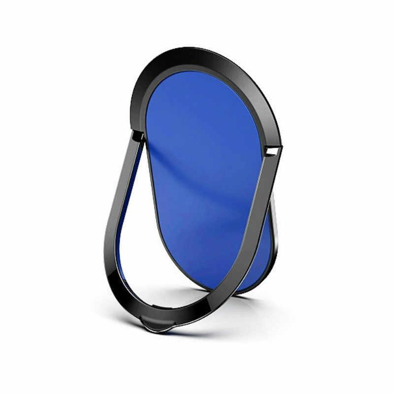 Luksusowy metalowy uchwyt na telefon komórkowy uniwersalny 360 stopni pierścionek obrotowy uchwyt uchwyt magnetyczny do samochodu stojak akcesoria