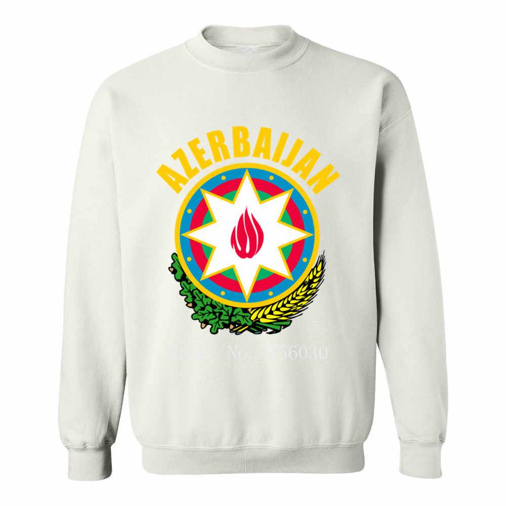 Azerbaïdjan blason homme sweat homme mode pulls à capuche pour hommes et sweatshirts col rond col rond coton pull à capuche loisir