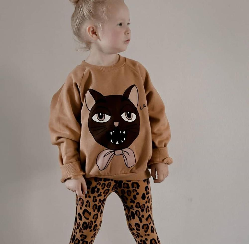 Mini R Kids Sweatshirt Long Sleeve T-Shirts Boys Girls Casual Cartoon Top New Autumn Winter Toddler Cotton Tee Children Clothes 4