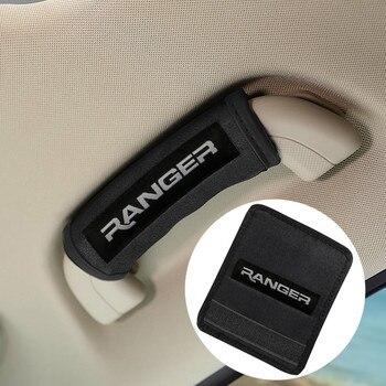 Плюшевый защитный чехол с ручкой на крышу автомобиля для интерьера автомобиля Ford Ranger T6 2008 2017 2018, аксессуары для стайлинга автомобиля