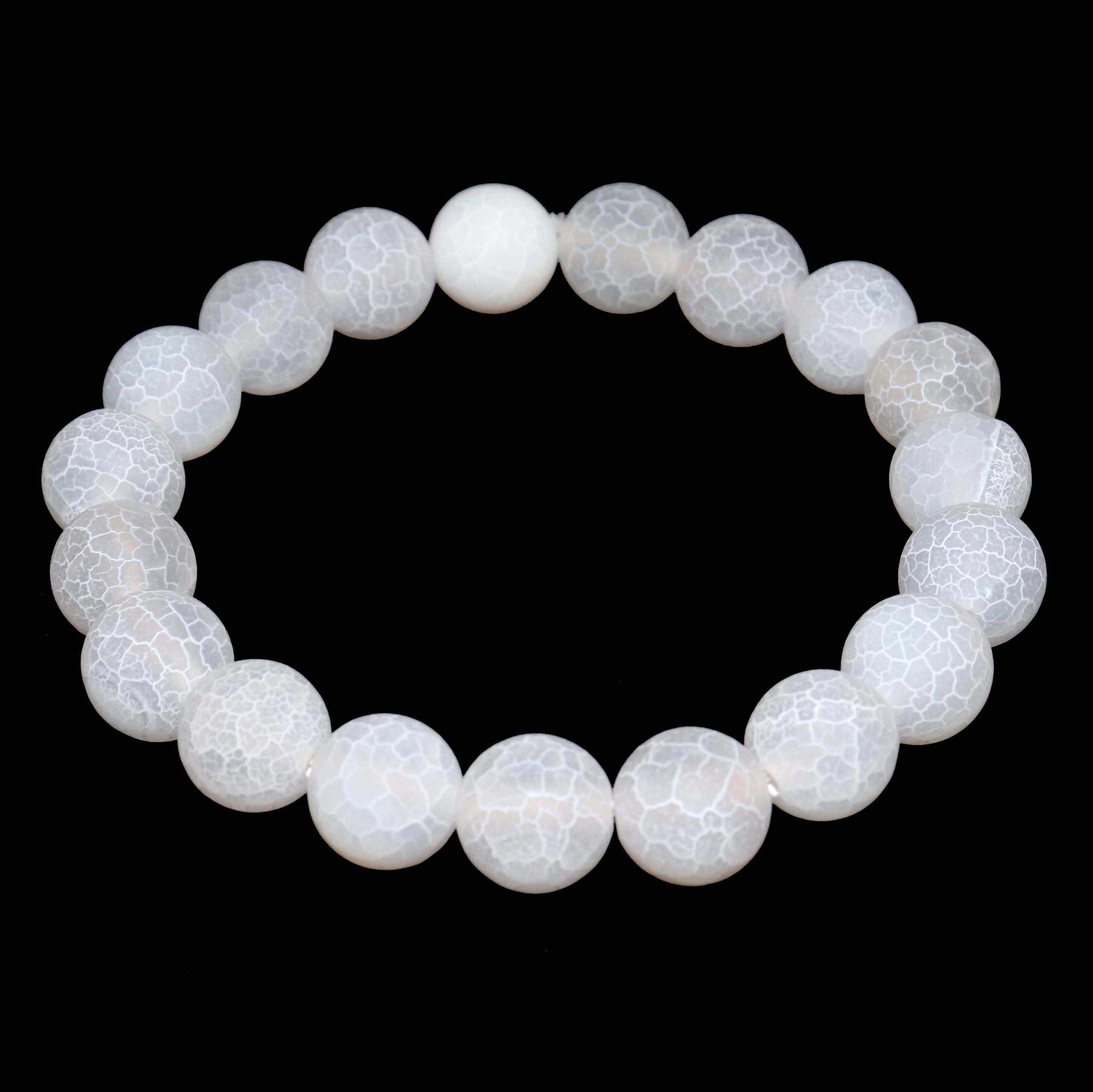 Trasferimento Fortuna 6 8 10 MILLIMETRI Beads In Pietra Naturale Pietre di Vetro di Cristallo Braccialetti Per Le Donne Degli Uomini di Yoga Turchesi Braccialetto Femme regali