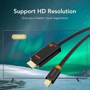 Image 3 - CABLETIME New Arrival 2020 Thunderbolt Mini DisplayPort dp DP to HDMI Adapter HDMI DP Cable for 1080P TV Computer MacBook C055