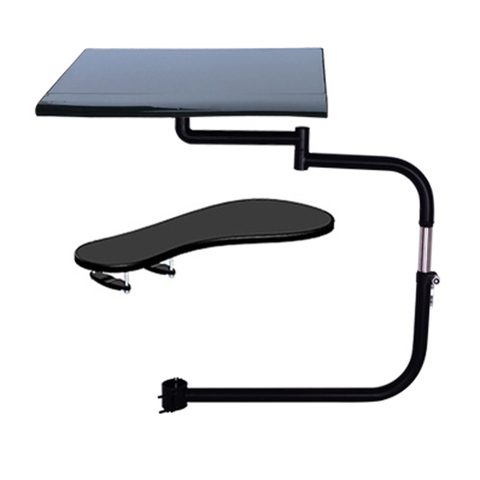 D-mount OK010 Multifunctional Full Motion Chair Clamping Keyboard Support Laptop Desk Holder Mouse Pad  Stainless steel 20kg Islamabad