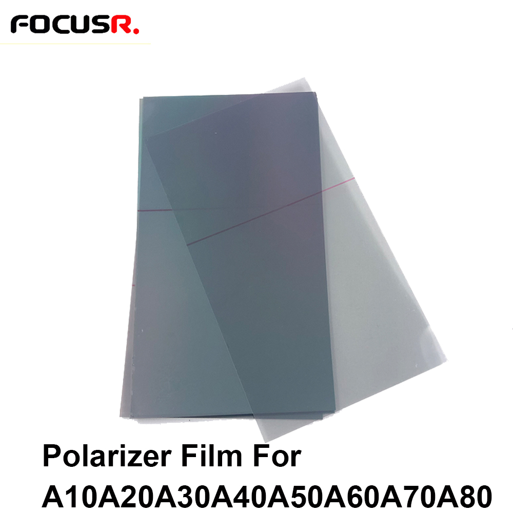 Original 10pcs Polarizer Film Sticker For <font><b>Samsung</b></font> A10 A20 A30 A40 A50 A60 <font><b>A70</b></font> A80 <font><b>LCD</b></font> Filter Polarizing Film Polaroid Light Film image