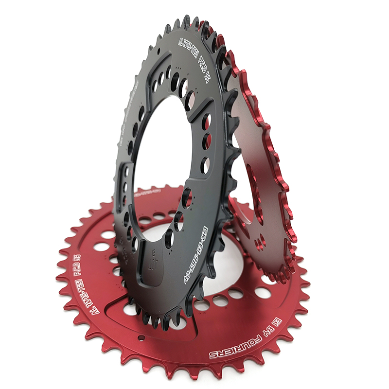 FOURIERS PCD 96 Chainring 32//34//36T Teeth Mountain Bike MTB Bicycle CR-E1-96S