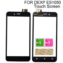 Touch Screen Digitizer For DEXP Ixion ES1050 Touch Screen Front Glass Lens Touch Panel Sensor Mobile Phone Tools 3M Glue