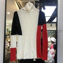 Пуловер,, полное пончо, вязаный джемпер, новинка, длинный рукав, женский тонкий цветной шерстяной джемпер, женский свитер