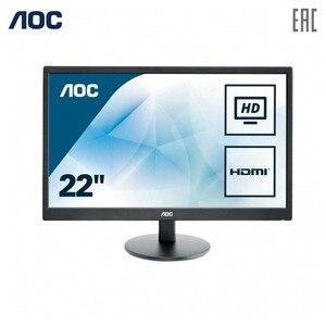 Monitory LCD obsługi AOC E2270SWHN urządzeń peryferyjnych do komputerów PC gra komputerowa monitor FHD TN 215 ''nonGLARE 200cd m2 H90 ° V65 ° 20М:1 5msVGAHDMIAudio się