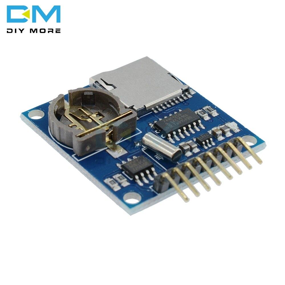 Mini Data Logger Module Logging Shield for Arduino Raspberry Pi Logging Recorder Data Logger Module Shield V1.0 SD Card