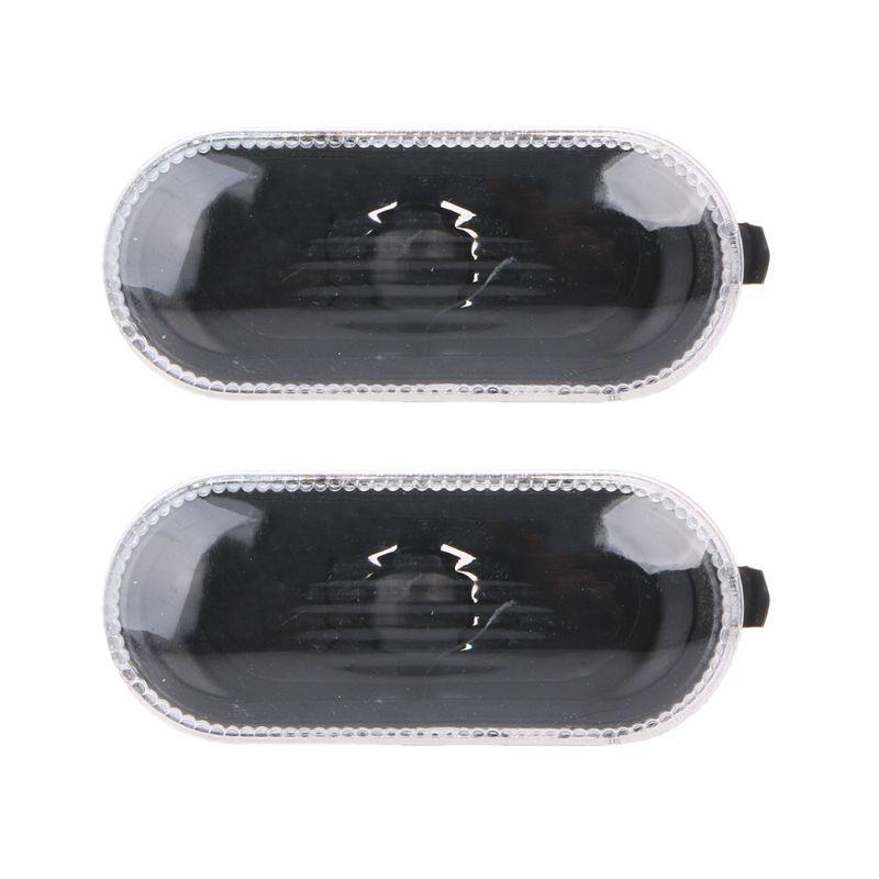 2 Pcs Free Side Marker Turn Light For MK4\B5\B5.5\R32 Indicator Beam Bulb Cover