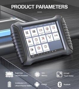 Image 3 - XTOOL herramienta de diagnóstico de coche OBD2 con Bluetooth/WiFi, herramienta de reparación de automóviles, lector de código, escáner de por vida, actualización gratuita