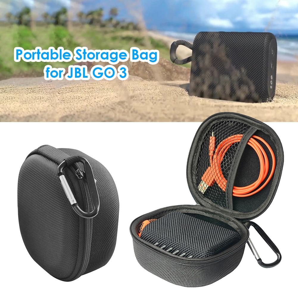 Electronic Equipment Protective Pack Case Carrying Case for JBL GO 3 Portable Speaker Waterproof EVA Hard Storage Case Bag