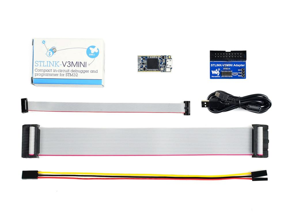 ST Original STLINK-V3MINI, Compact In-circuit Debugger And Programmer For STM32 Microcontrollers